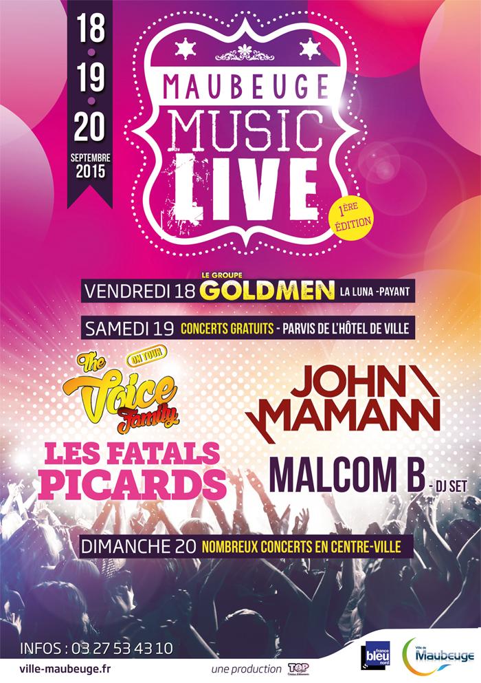 Maubeuge Music Live - Festival 2015-1